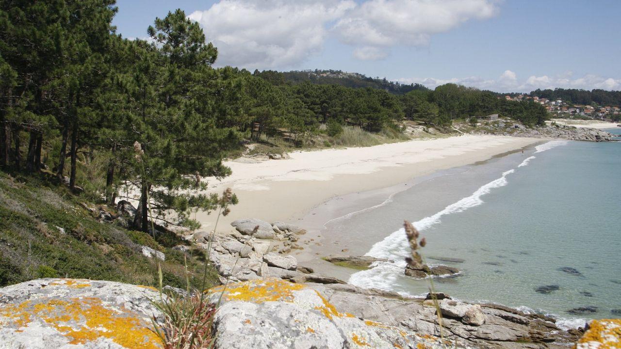 .Otro paraíso natural, esta vez en Cangas acumula 1.037 menciones. Estamos en Barra