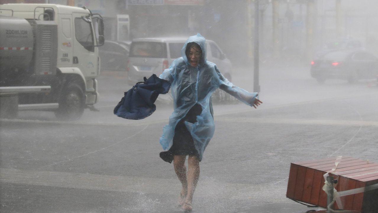El feroz paso del Mangkhut por Filipinas