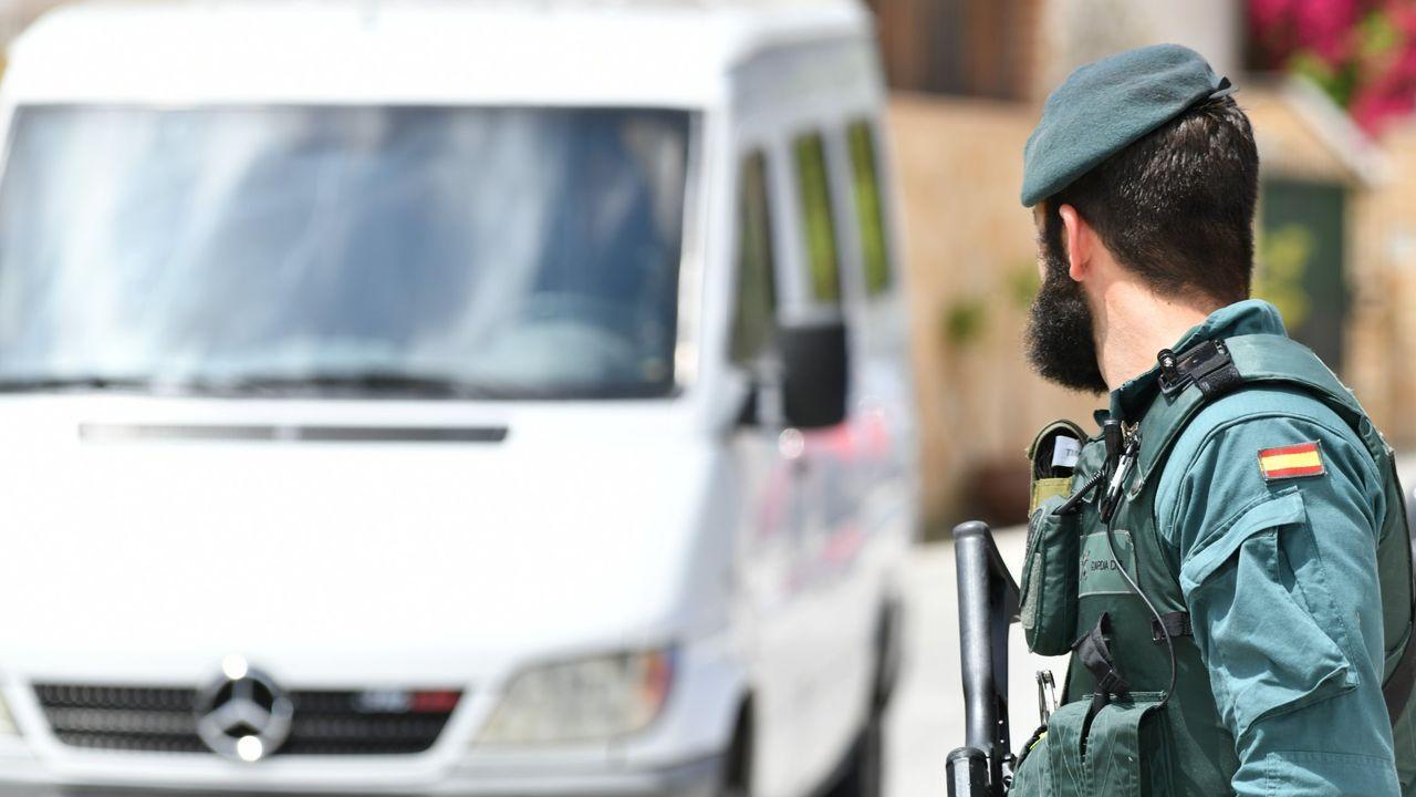 Agente de la Guardia Civil, en una imagen de archivo