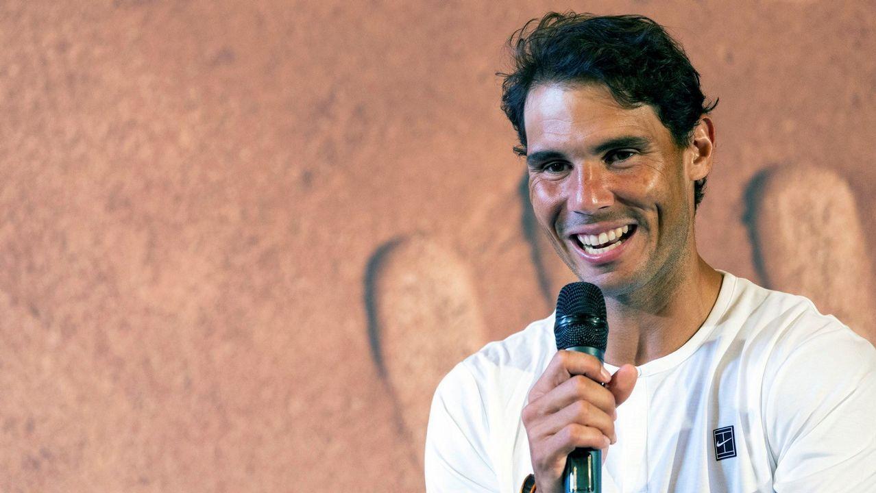 Nadal: «Wimbledon es el torneo al que acudo con menos preparación».Fotografía facilitada por Toyota Gazoo Racing, del piloto español Fernando Alonso