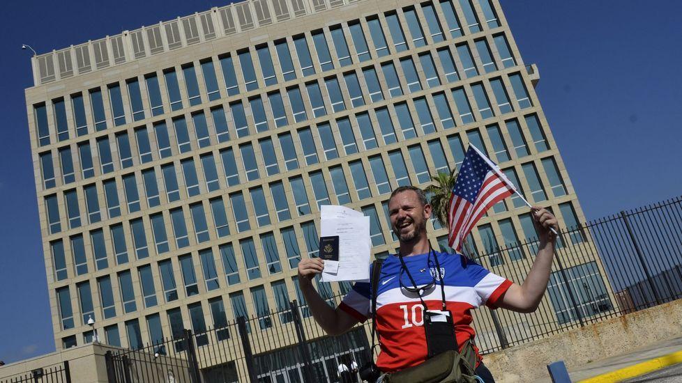 La embajada de Estados Unidos en La Habana reabre sus puertas.Maduro y Morales acompañaron este jueves a Fidel Castro en La Habana.