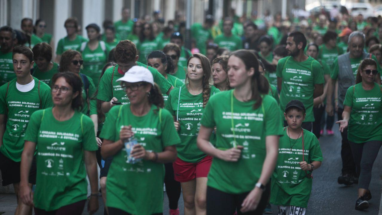 Así fue la segunda andaina solidaria contra el cáncer en Carballo. ¡Mira las imágenes!.El president Quim Torra en una escuela infantil el primer día de curso