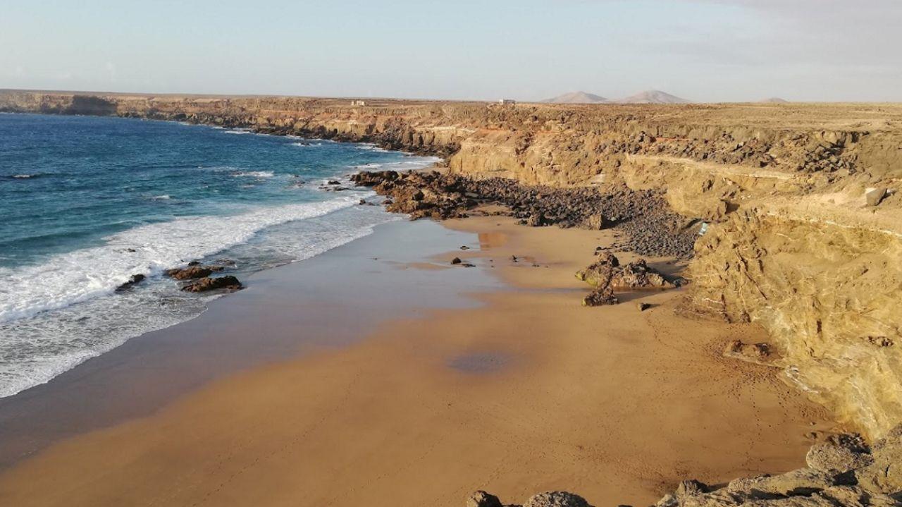 Así son los avistamientos «oficiales» de ovnis en Galicia.La playa de Tebeto, en una imagen de Google Maps