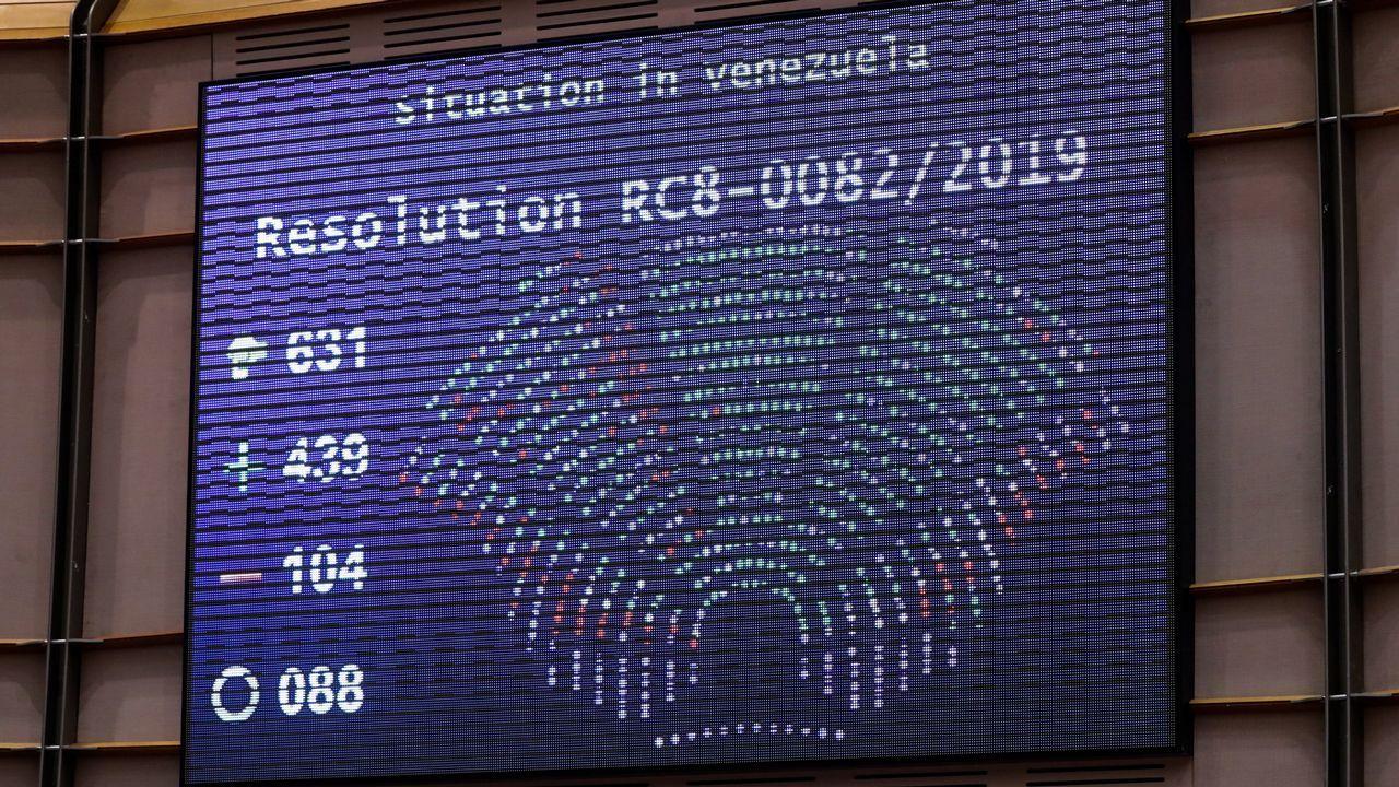 Venezuela se echa a la calle para reclamar elecciones libres.La eurocámara aprobó la resolución por 439 votos a favor