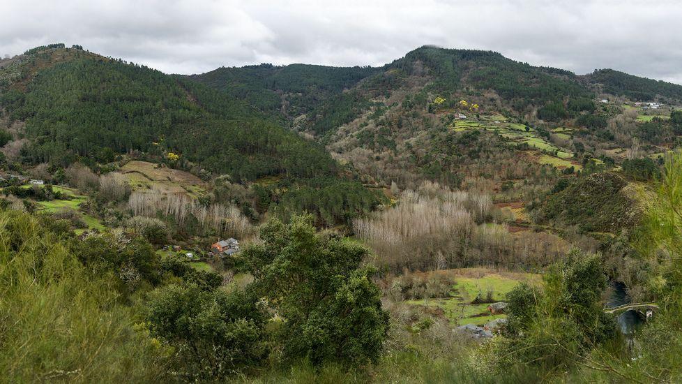 Una vista de conjunto de la zona por la que discurre la ruta