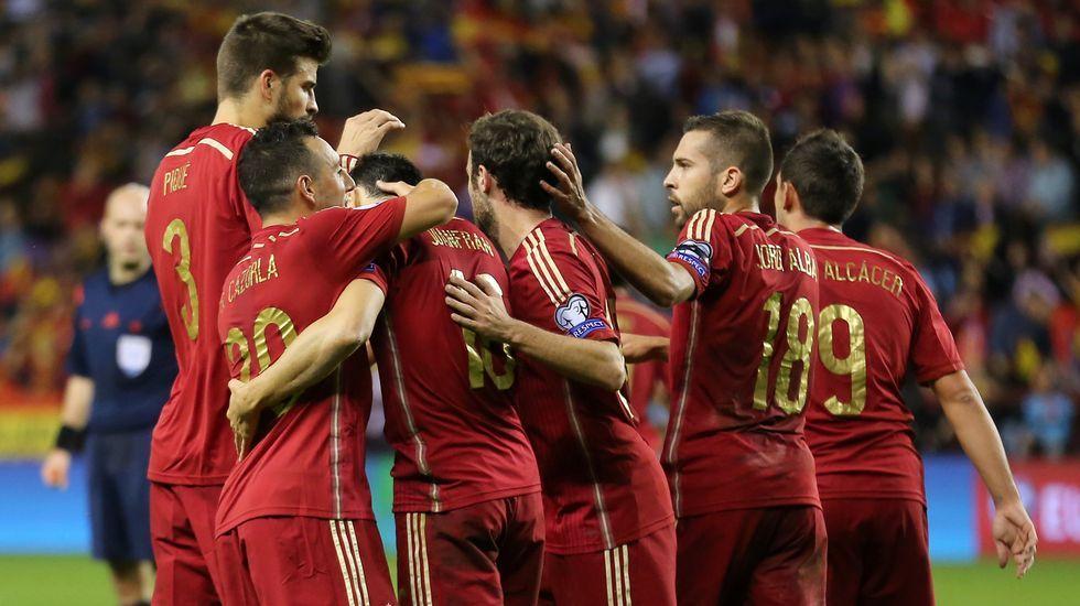 La victoria de España en fotos.