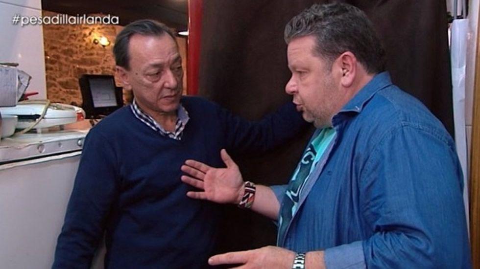 «La grasa de la campana la puso el programa».Alberto Chicote ha hecho famosas su «coloridas» camisas.