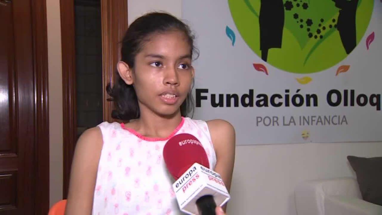La joven operada de un tumor raro en La Paz vuelve a casa