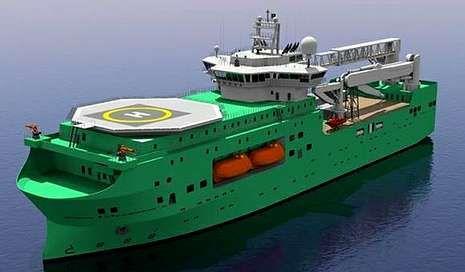 Diseño virtual del flotel de Pemex que construirán Barreras y Navantia.