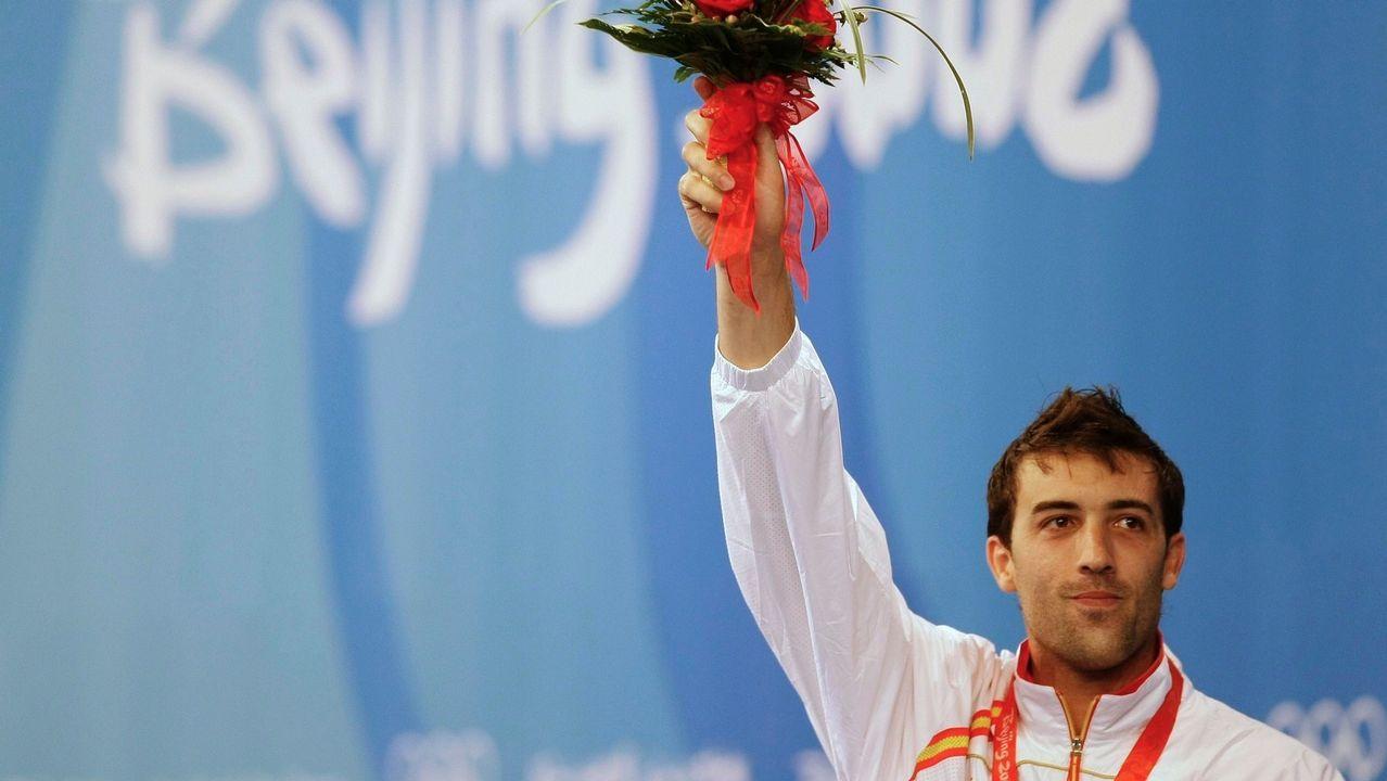 José Luis Abajo ganó una medalla olímpica en esgrima