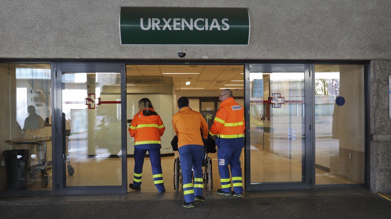 Concentracion trabajadores urgencias del hospital