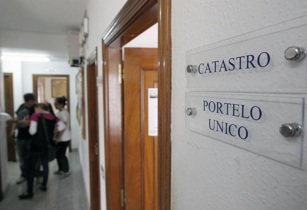 Acceso a la autovía desde O Corgo y Castroverde ayer.