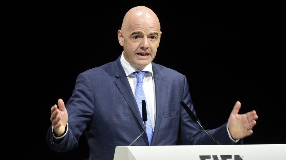 Infantino nuevo presidente de la FIFA.