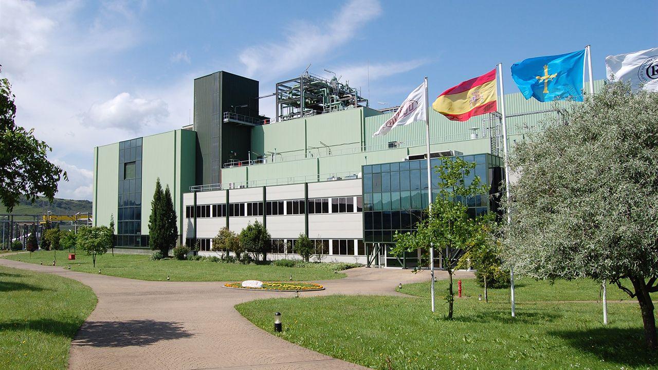 Instalaciones de Dupont en Asturias