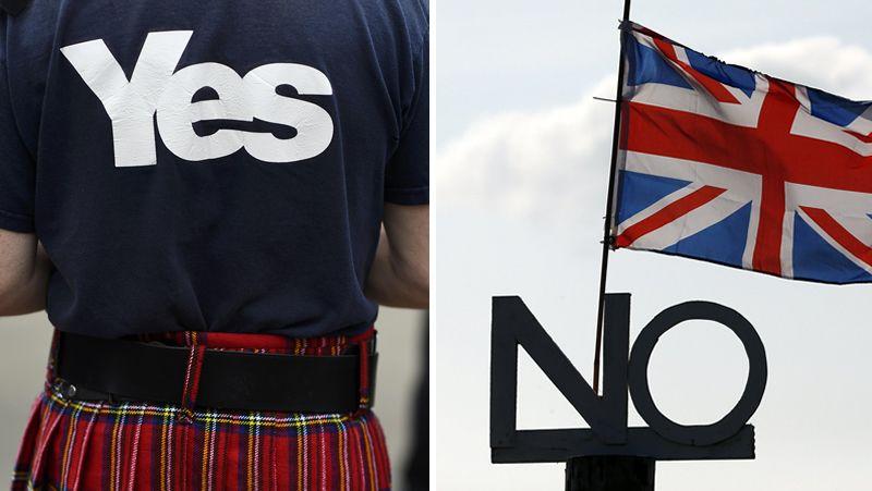 Escocia agota las últimas horas antes de su referéndum.Los marineros invitaron a los miembros de la Comisión Europea a comprobar in situ cómo se trabaja con el xeito.