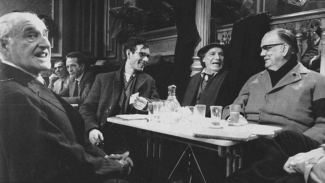 Josep María Flotats y Pere Ponce en un momento de 'Voltaire-Rousseau. La disputa'