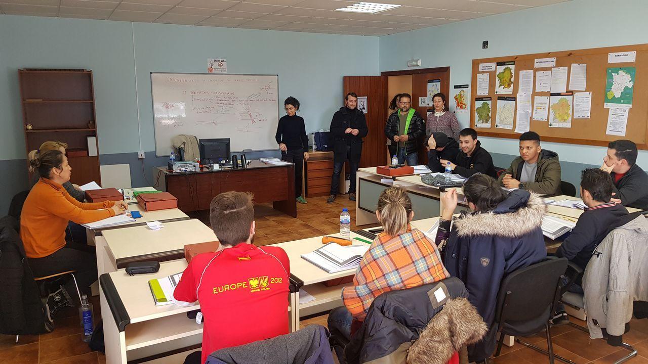 Concentraciones de venezolanos en Celanova y Ourense