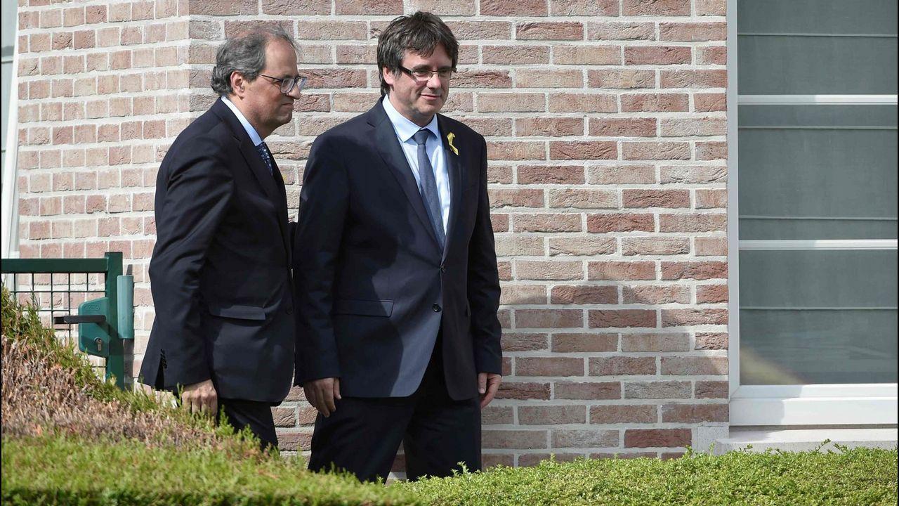 Presentación de los candidatos a alcaldes del PP en las 7 ciudades.El viaje de Torra a Waterloo en julio pasado costó más de 13.000 euros a las arcas catalanas