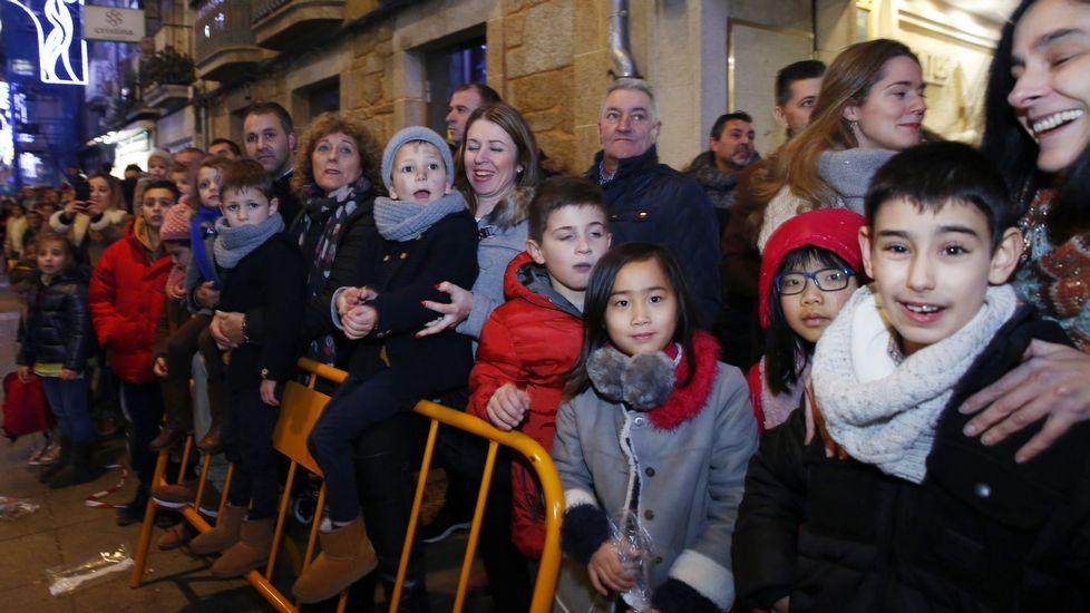 Las imágenes de la Cabalgata de Reyes de Pontevedra