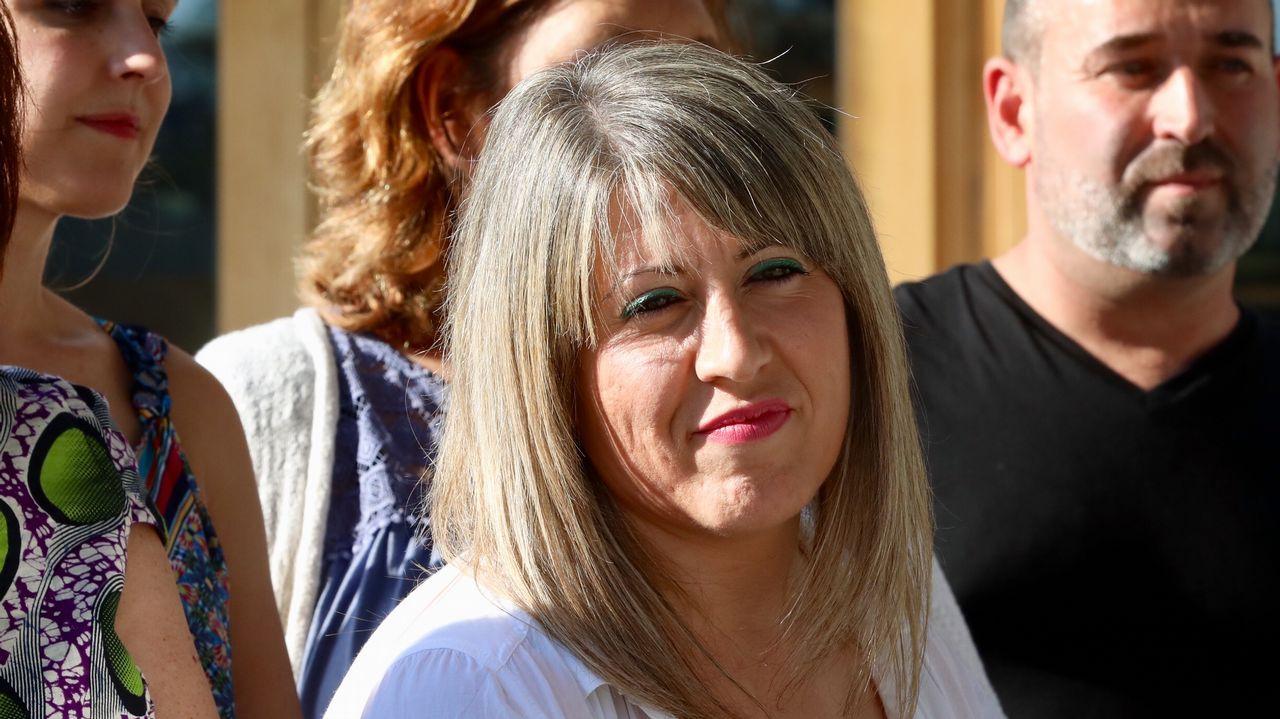Carolina Bescansa: «Podo axudar a botar a Feijoo».Carolina Bescansa y Carmen Santos, en una foto de archivo