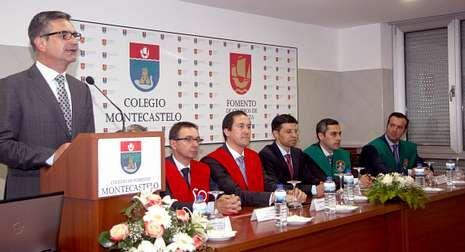 Paco Sánchez desarrolló en el Montecastelo la conferencia El sabor de la esperanza.