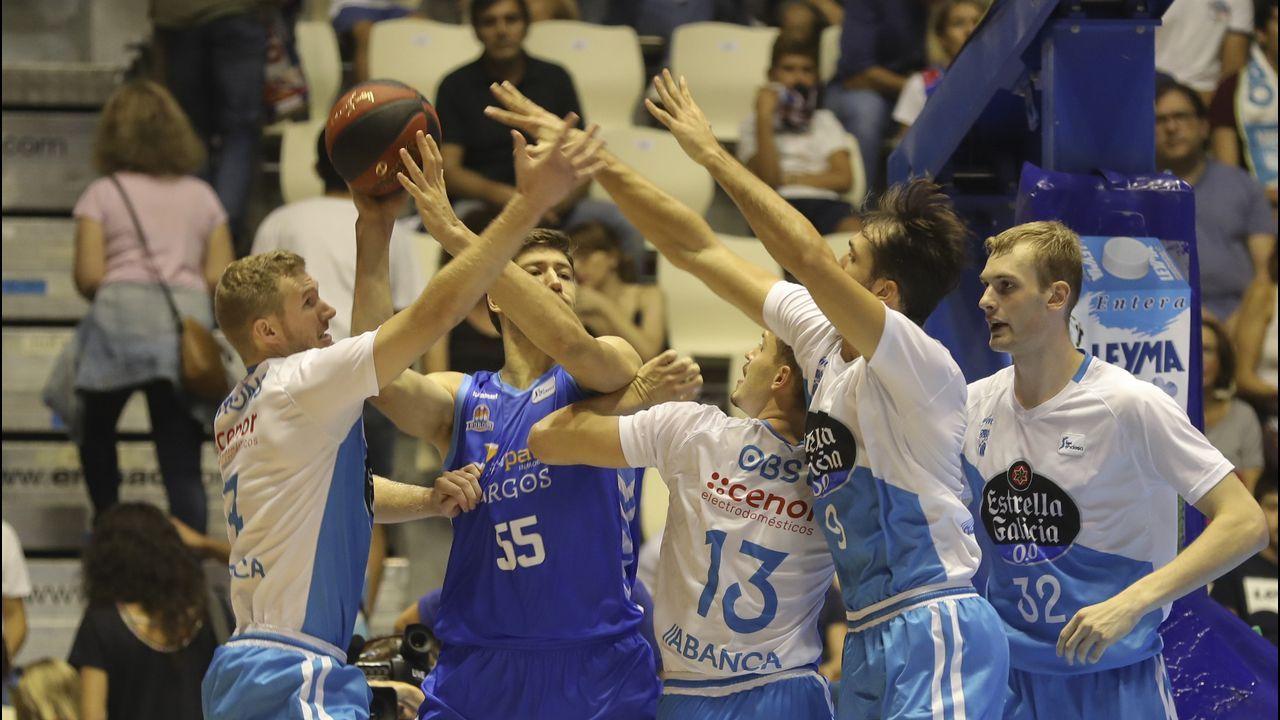 Incidente con un gallego en un partido de los Miami Heat.Pepu Hernández