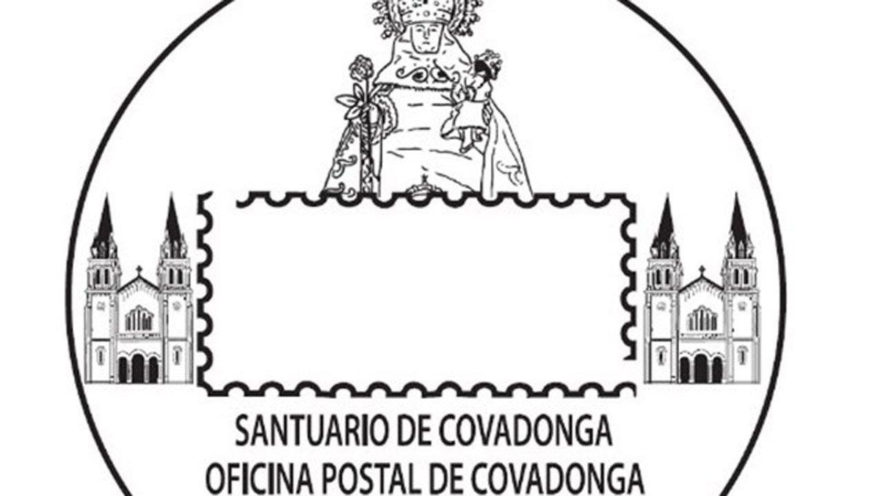 Correos estrena nuevo matasellos dedicado al Santuario de Covadonga