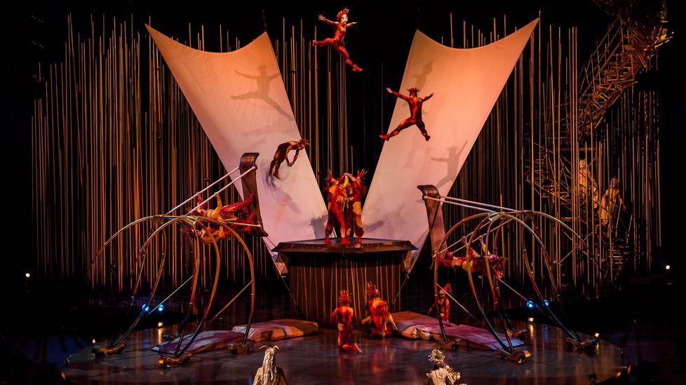 «Varekai».Imagen del espectáculo