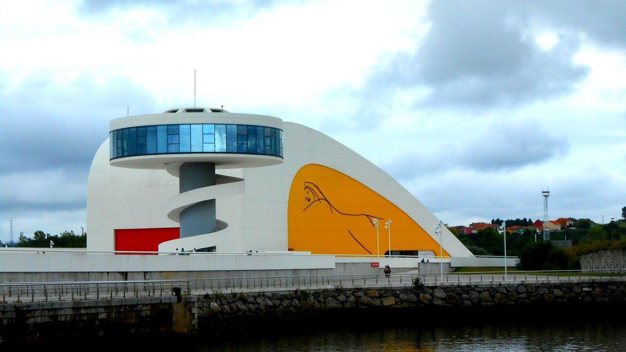 Centro Niemeyer.Exposición de Sorolla en el Niemeyer