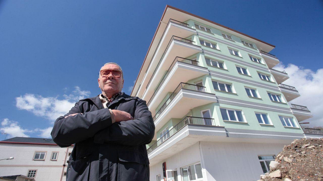 Un hombre de 84 años reconvierte en geriátrico su hotel de 5 pisos en Rábade