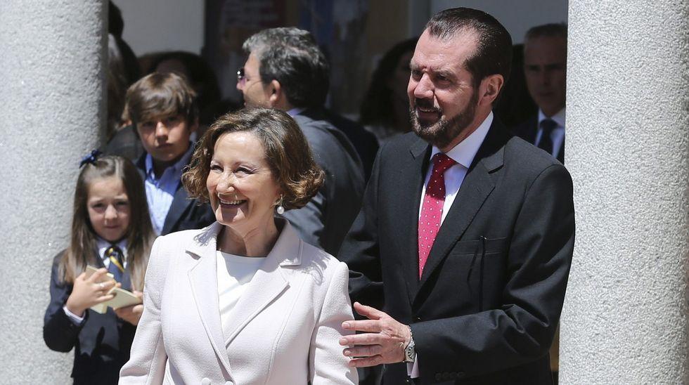 .Los padres de la reina Letizia, Jesús Ortiz y Paloma Rocasolano.