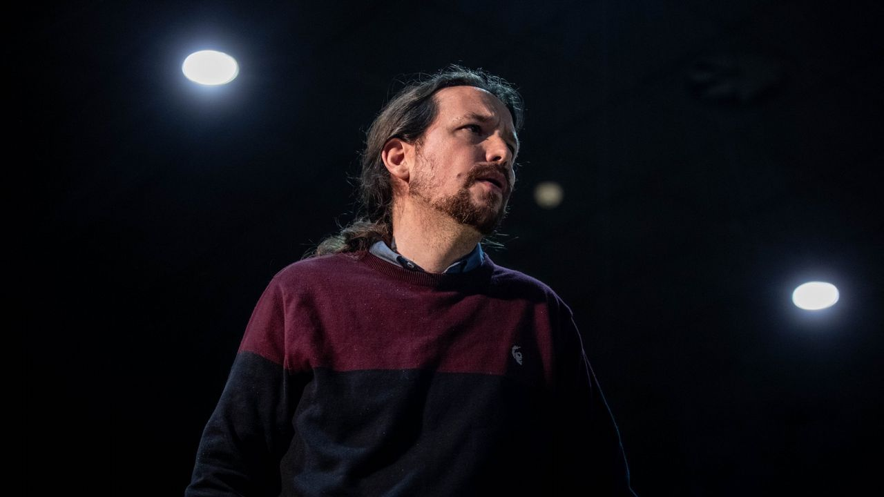 Pablo Iglesias, en un acto en Zamora el pasado 17 de mayo
