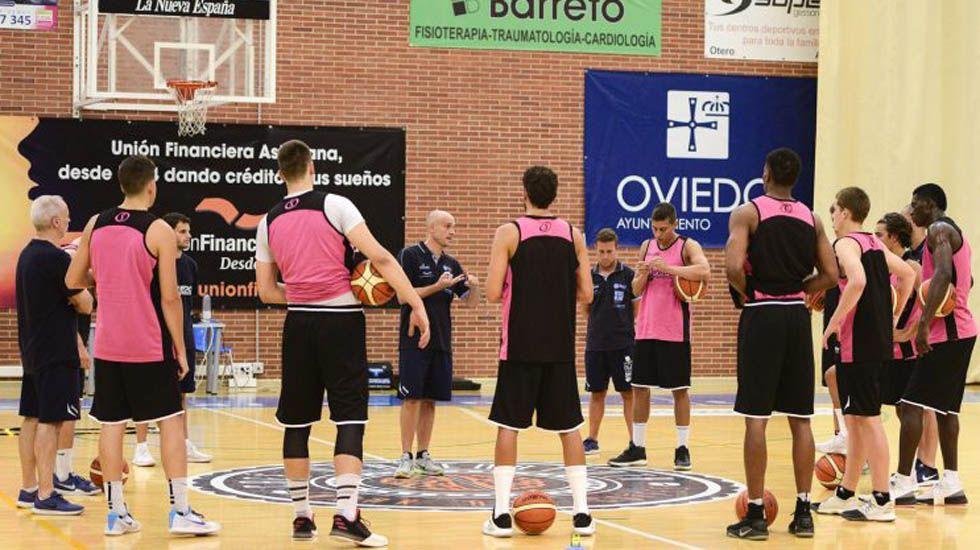.El Oviedo Basket arranca la pretemporada.