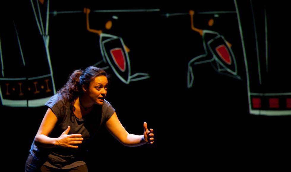 .Marta Viera protagoniza un monólogo que se ha convertido en una de las obras del año