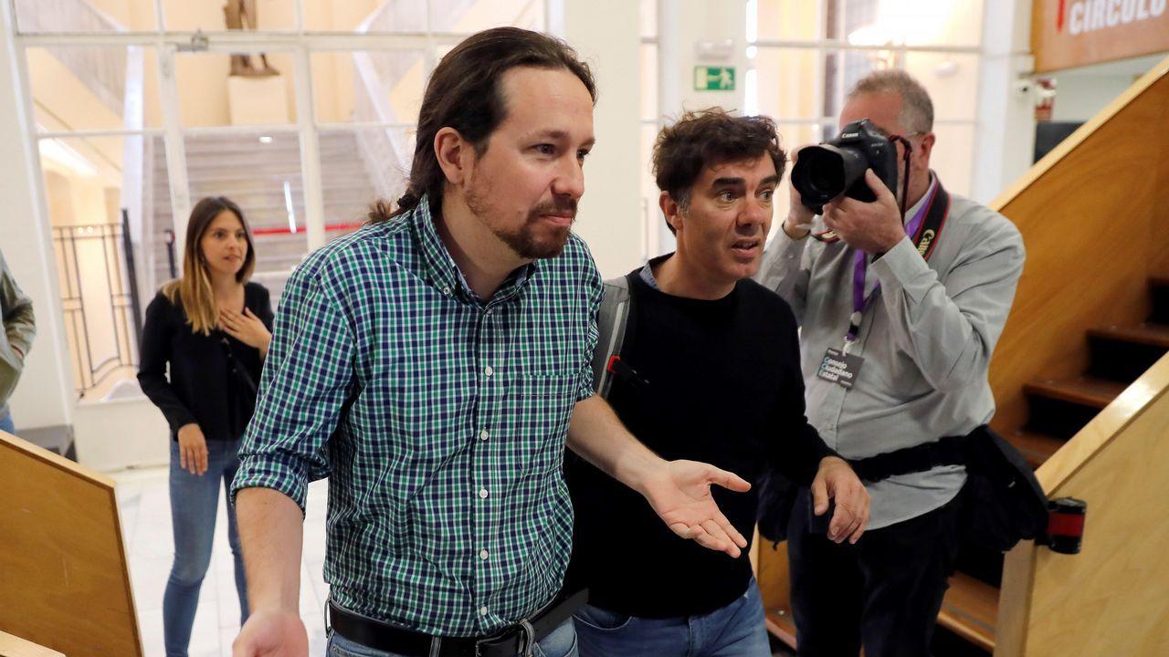 Ábalos: «Hay que contar con aquellos que quieren colaborar».Pablo Iglesias