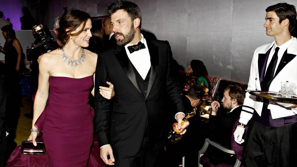 Trailer «The Lone Ranger».El gran triunfador de la noche Ben Affleck con su mujer Jennifer Garner