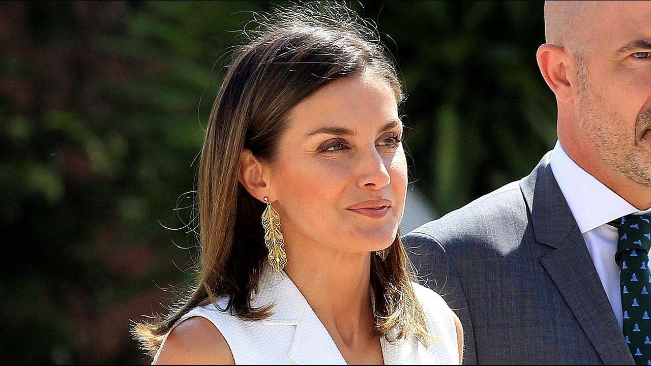 La reina Letizia y Kate Middleton, ¿persiguiendo el mismo «look»?.Moneda conmemorativa con la imagen de la Princesa Leonor