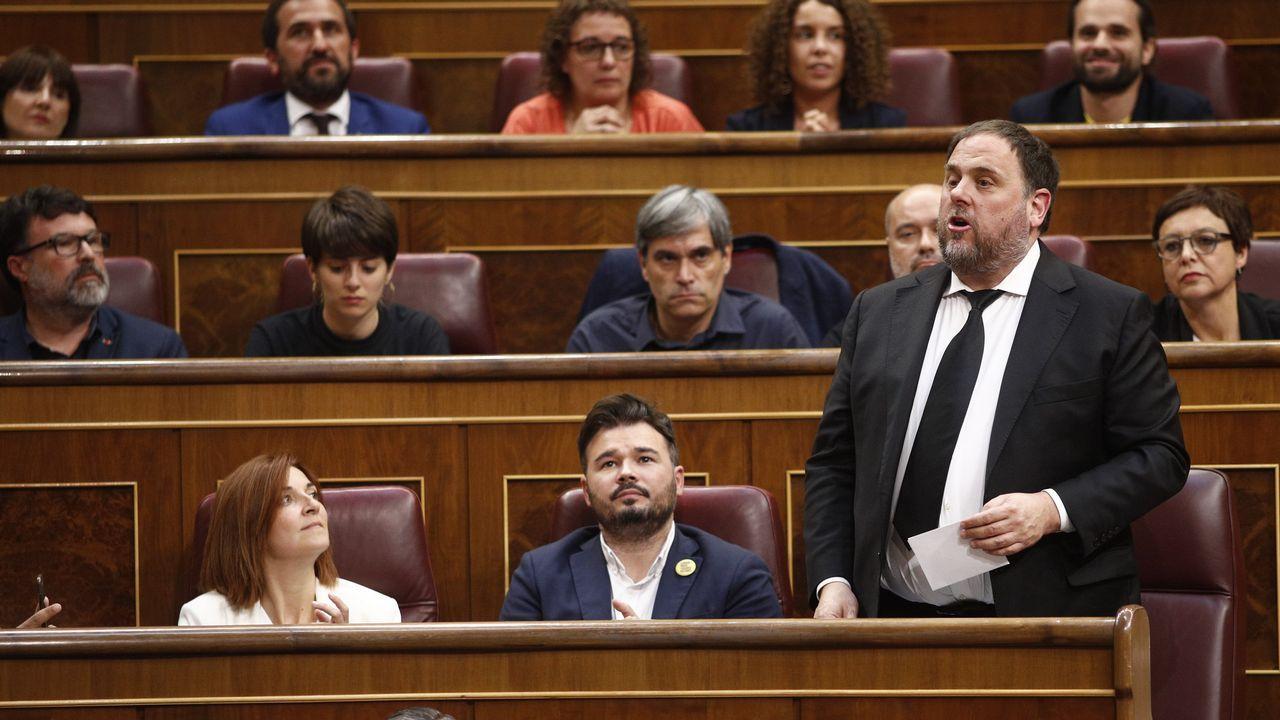 Una joya escondida en la provincia de Lugo.Los presidente del Senado, Manuel Cruz,  y del Congreso, Meritxell Batet
