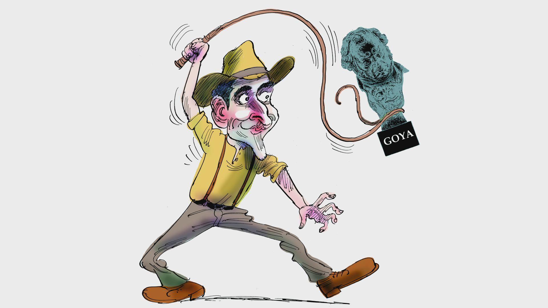 El exterminador de velutinas.Registro en la casa de Charlín