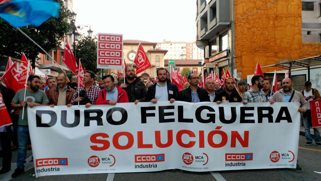 Duro Felguera insta a Del Valle a dar un paso al frente «o que se aparte»