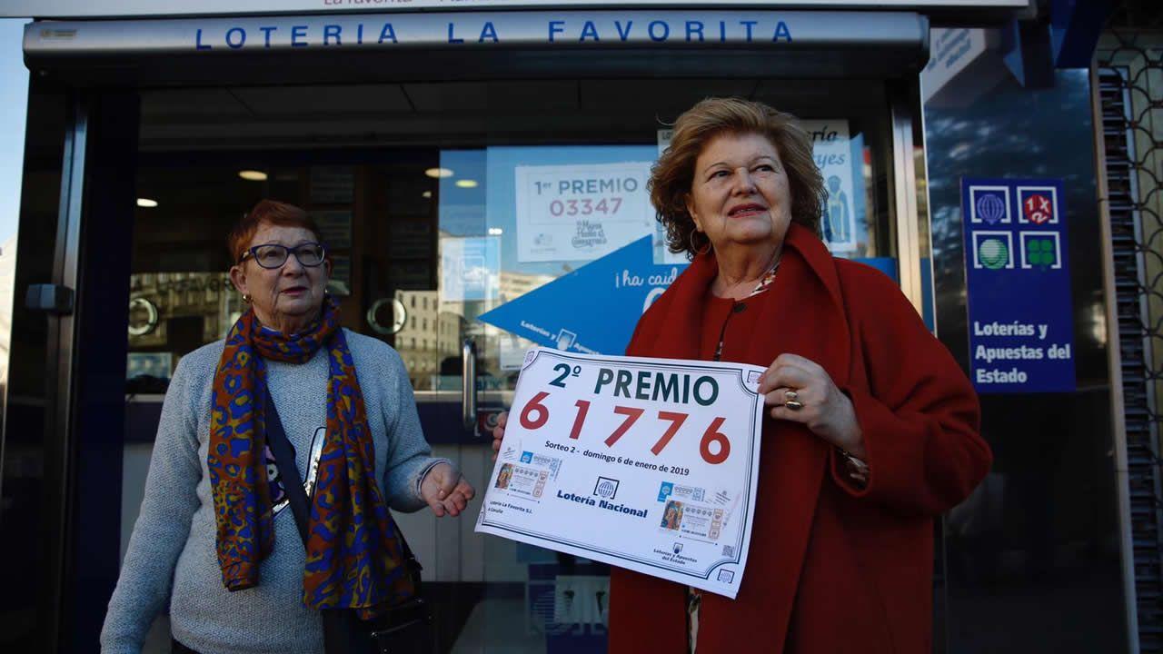 En la administración coruñesa de La Favorita, donde se había vendido ya un décimo del Gordo de Navidad, han vendido un billete entero del segundo premio de la Lotería de Reyes