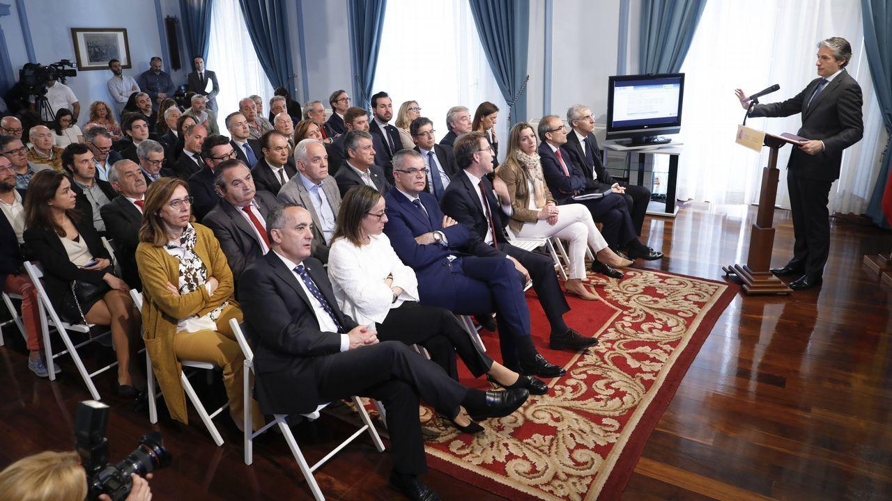 El viaje en tren del ministro de Fomento de Sarria a Lugo.