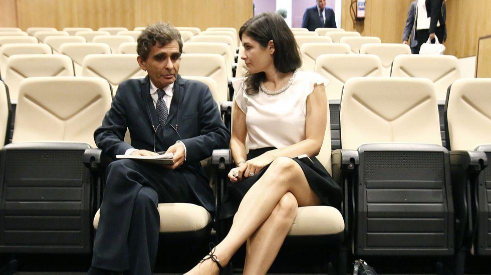 Este chico tiene una Estrella especial.Adolfo Domínguez y su hija Valeria
