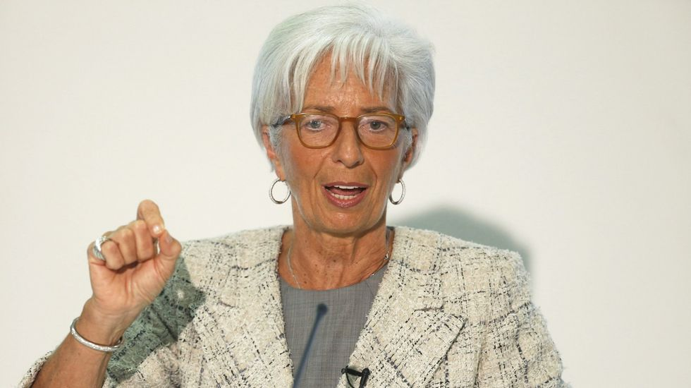 .La directora del Fondo Monetario Internacional, Christine Lagarde
