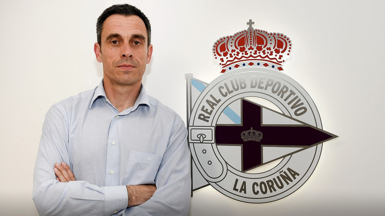 En directo, comparecencia de Tino Fernández.Tino Fernández, presidente del Deportivo
