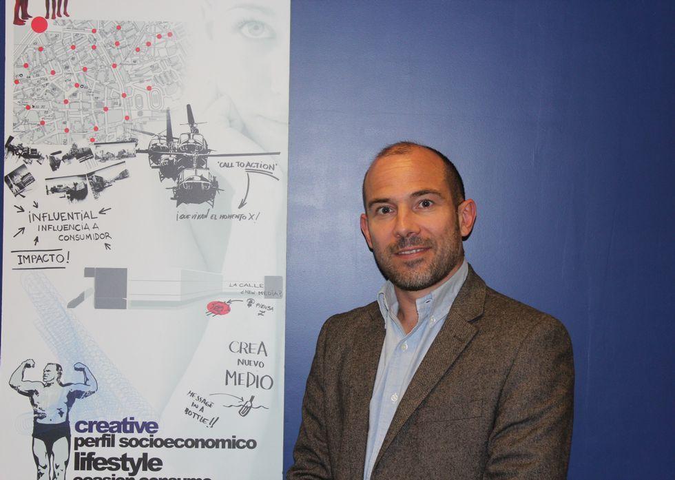 El pontevedrés César Barral Álvarez es director estratégico de la agencia de medios PHD.