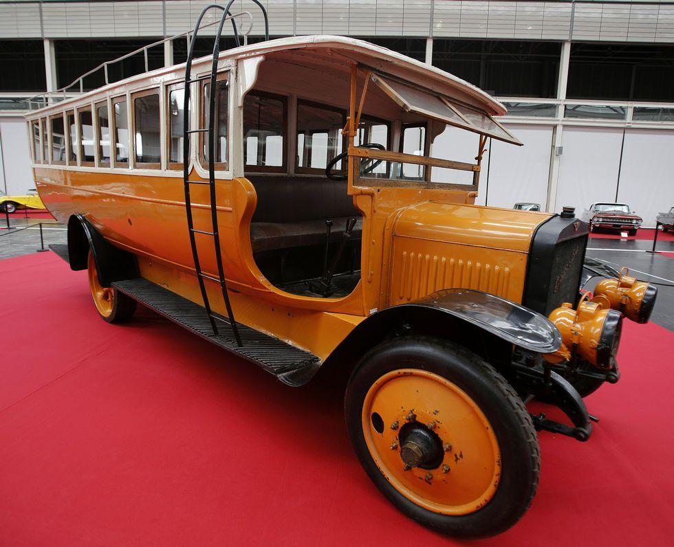 El autobús Hispano Suiza Viajera fabricado en España en 1918.