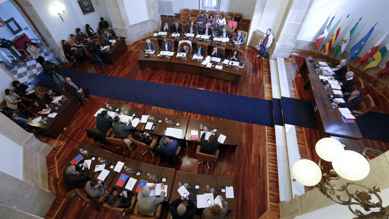 A regueifa dos alumnos do CEIP do Carballal de Marín