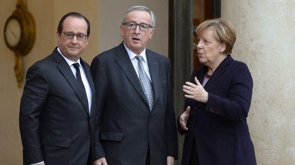¿Cómo se vivió el día de la desconexión en Cataluña?.Tsipras y Merkel, en la cumbre
