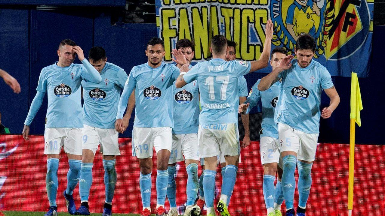 El Villarreal - Celta en imágenes